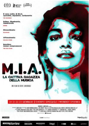 Copertina M.I.A. - La cattiva ragazza della musica