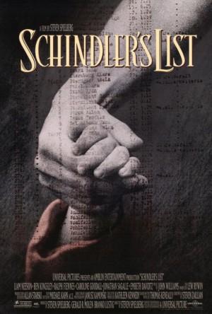 Copertina Schindler's List - La lista di Schindler