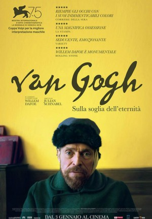 Copertina Van Gogh - Sulla soglia dell'eternità