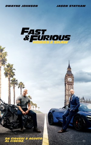 Fast & Furious - Hobbs & Shaw Cover