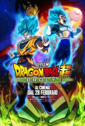 Dragon Ball Super: Broly Cover