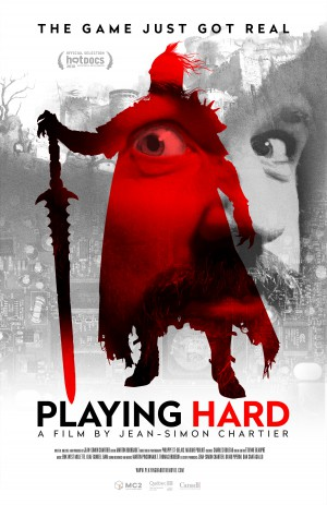 Playing Hard Cover