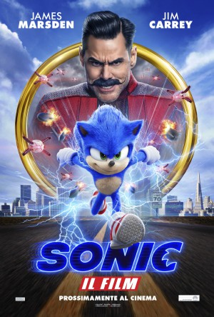 Sonic Il Film Cover