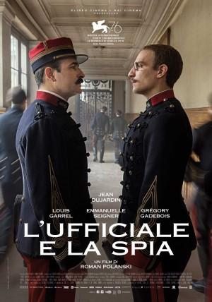 L'Ufficiale e la Spia Cover