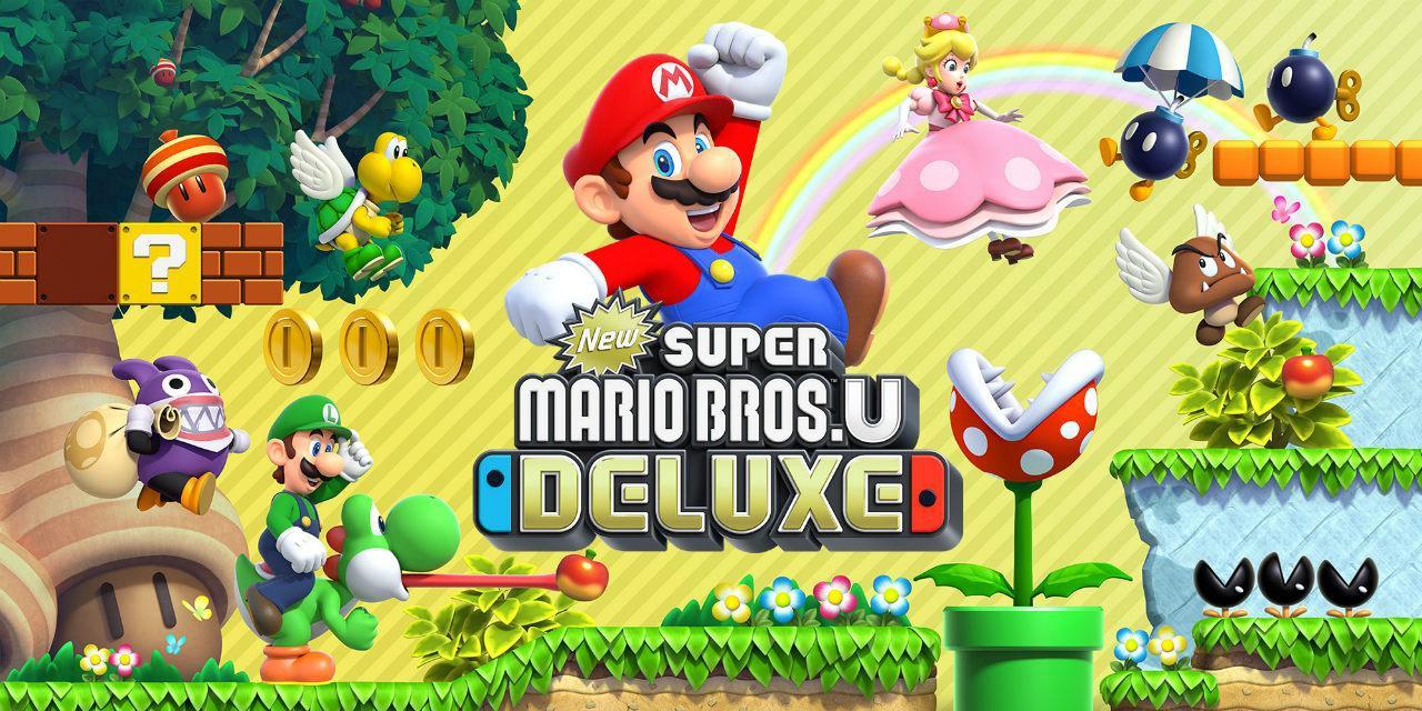 Recensione New Super Mario Bros. U Deluxe