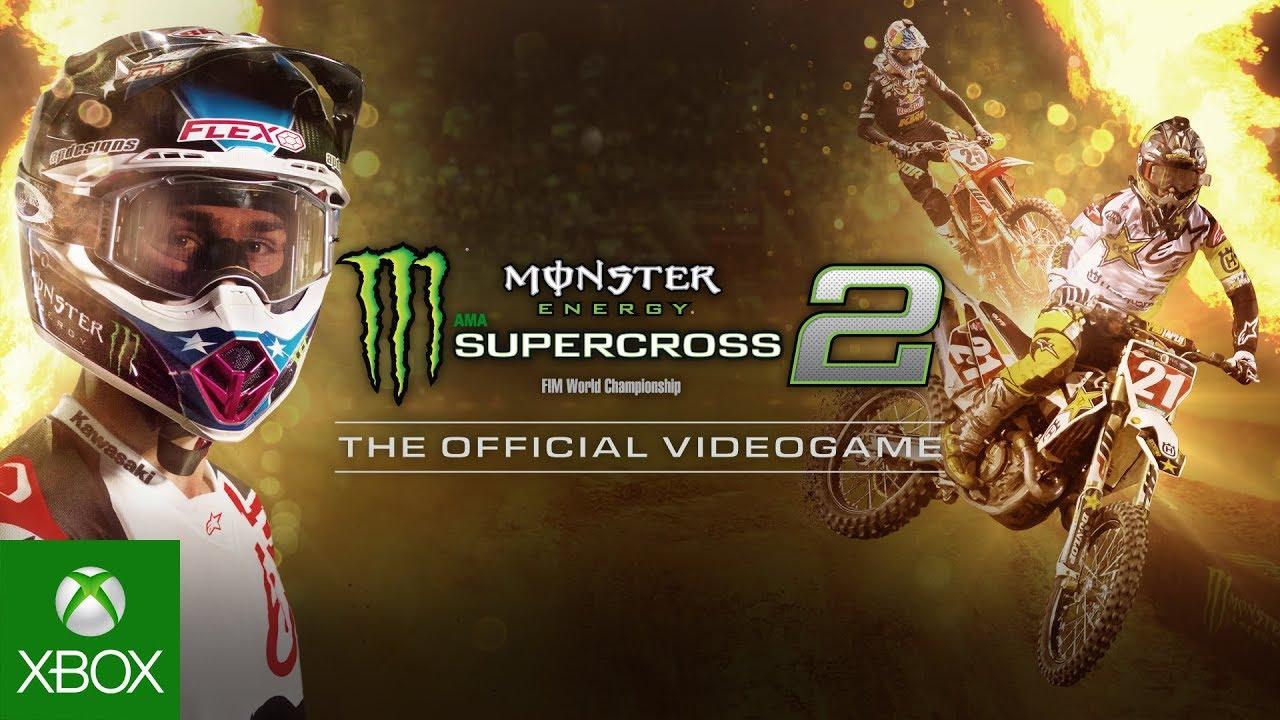 Recensione Monster Energy Supercross 2