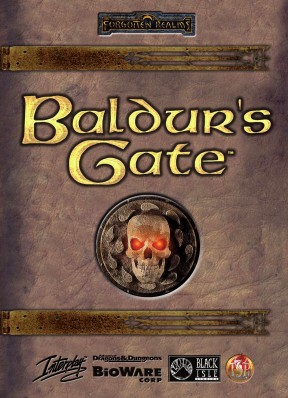 Baldur's Gate MAC Cover