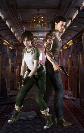 Resident Evil 0 Switch Cover