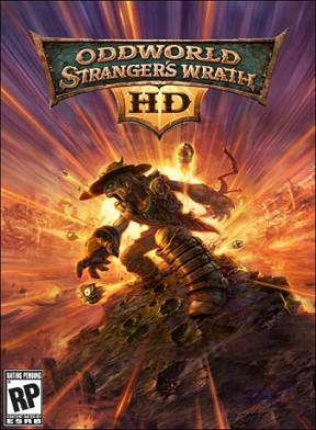 Oddworld: Stranger's Wrath Xbox Cover