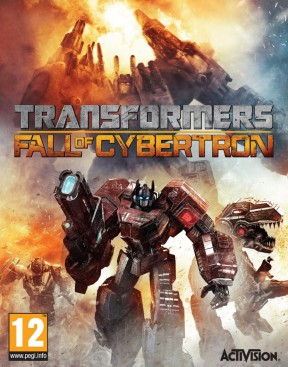 Transformers: Fall of Cybertron PS4 Cover