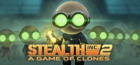 Stealth Inc. 2 - A Game of Clones PS4 Cover