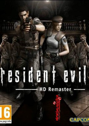 Resident Evil Remastered Switch Cover