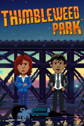 Thimbleweed Park Xbox One Cover