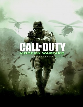 Call of Duty: Modern Warfare Remastered PS4 Cover