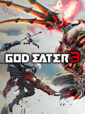 God Eater 3 PS4 Cover