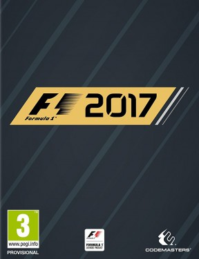 F1 2017 PS4 Cover