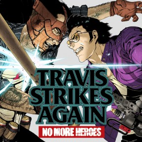 Travis Strikes Again: No More Heroes Switch Cover