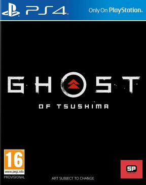 Ghost of Tsushima PS4 Cover