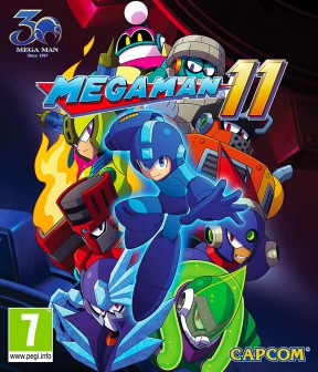 Mega Man 11 Switch Cover