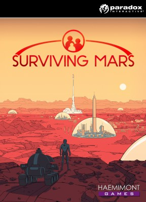 Surviving Mars PC Cover
