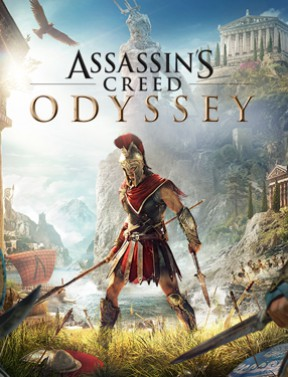 Assassin's Creed Odyssey PS4 Cover