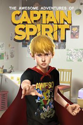 The Awesome Adventures of Captain Spirit Xbox One Cover