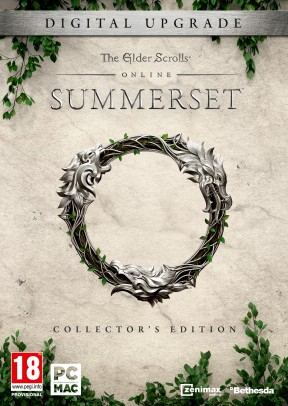 The Elder Scrolls Online: Summerset Xbox One Cover