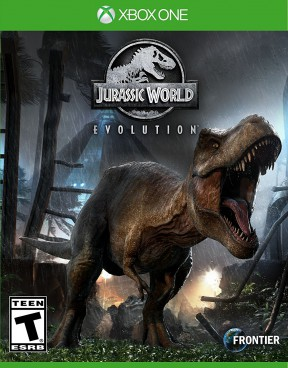 Jurassic World Evolution Xbox One Cover