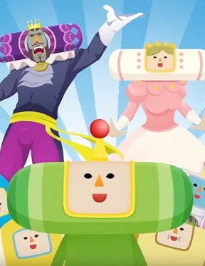 Katamari Damacy REROLL Switch Cover