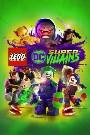 LEGO DC Super-villains PC Cover