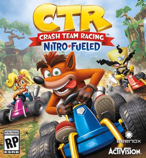 Crash Team Racing Nitro-Fueled Switch Cover