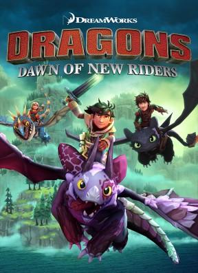 Dragons: L'Alba dei Nuovi Cavalieri PC Cover