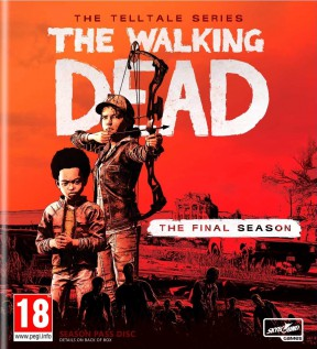The Walking Dead: The Final Season PC Cover
