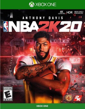 NBA 2K20 PS4 Cover