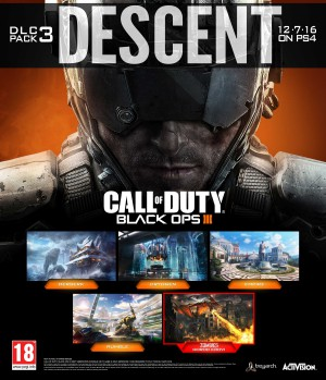 Copertina Call of Duty: Black Ops 3 - Descent - Xbox One