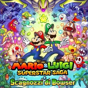 Copertina Mario & Luigi: Superstar Saga + Bowser's Minions - 3DS