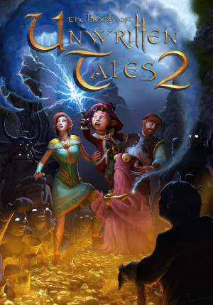 Copertina The Book of Unwritten Tales 2 - PS3