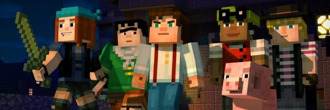 Minecraft Story Mode - Episode 1: The Order of Stone