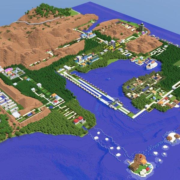 Un modder ricrea la regione di Kanto con Unreal Engine 4