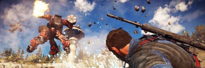 Just Cause 3 - Mech Land Assault DLC