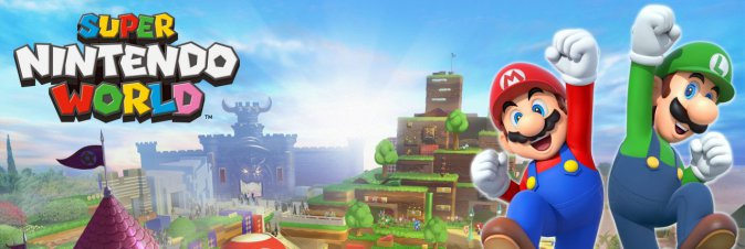 Super Nintendo World: appuntamento al 2020