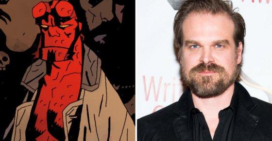In programma il reboot di Hellboy con la star di Stranger Things David Harbour