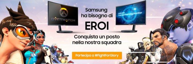 Samsung chiama a raccolta  gli aspiranti Pro Gamer e campioni di eSport