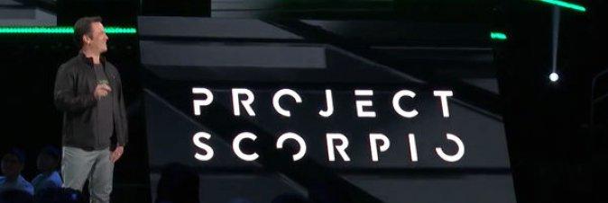 Xbox Scorpio, spuntano le prime indiscrezioni