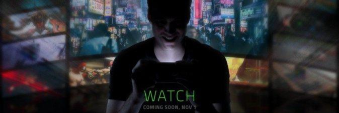 Lo smartphone di Razer sarà presentato ufficialmente il 1° novembre