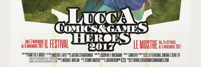 Lucca Comics & Games 2017