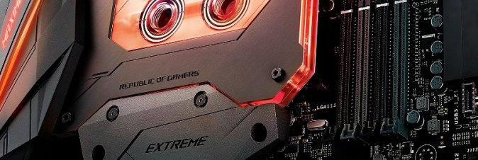 ASUS Republic of Gamers annuncia la scheda madre Maximus IX Extreme