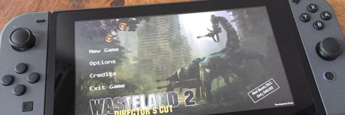 Wasteland 2 avvistato su Switch