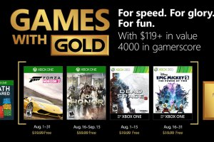 Microsoft annuncia i Games With Gold di agosto