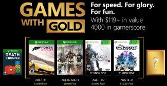 Microsoft annuncia i Games With Gold di agosto